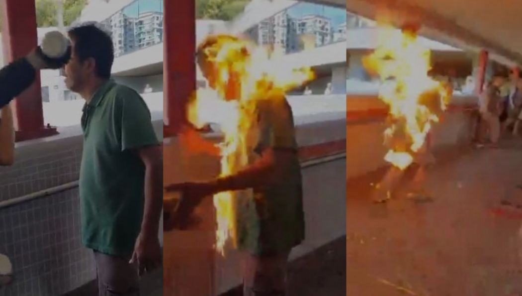 False Fire in Hong Kong and Self Immolation Hoax on Tiananmen Square